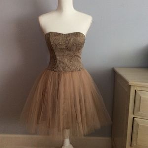 Forever 21 Strapless Party Dress, S/P